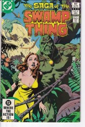 SAGA OF THE SWAMP THING #08 VF+