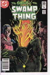 SAGA OF THE SWAMP THING #09 NM-