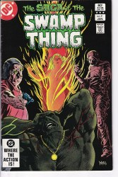 SAGA OF THE SWAMP THING #09 VF