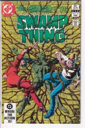 SAGA OF THE SWAMP THING #10 NM-