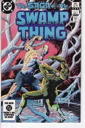 SAGA OF THE SWAMP THING #15 NM-