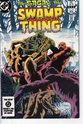 SAGA OF THE SWAMP THING #18 NM-