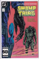 SAGA OF THE SWAMP THING #45 VF+