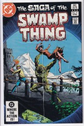 SAGA OF THE SWAMP THING #12 NM-