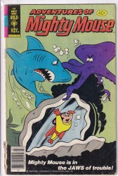 ADVENTURES OF MIGHTY MOUSE (1979) #168 GD