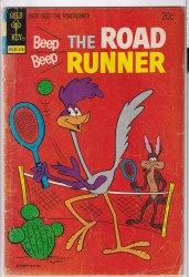 BEEP BEEP, THE ROAD RUNNER (GOLD KEY) #37 GD/VG