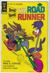 BEEP BEEP, THE ROAD RUNNER (GOLD KEY) #57 VG+