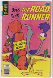 BEEP BEEP, THE ROAD RUNNER (GOLD KEY) #76 VG