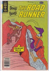 BEEP BEEP, THE ROAD RUNNER (GOLD KEY) #86 VG-