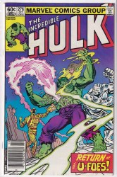 INCREDIBLE HULK (1962) #276 VF+