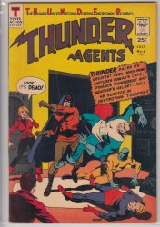 THUNDER AGENTS (1965) #06 VF-