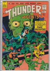 THUNDER AGENTS (1965) #08 VF+