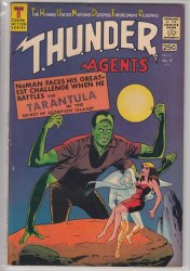 THUNDER AGENTS (1965) #09 VF-