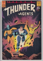 THUNDER AGENTS (1965) #12 VF+