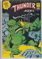THUNDER AGENTS (1965) #15 VF+
