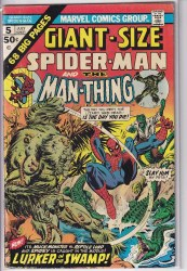 GIANT-SIZE SPIDER-MAN (1974) #5 FN-