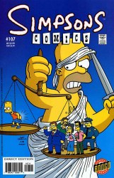 SIMPSONS COMICS #107