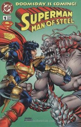 SUPERMAN MAN OF STEEL DOOMSDAY IS COMING #1 NM