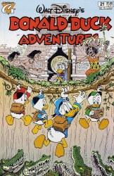 DONALD DUCK ADVENTURES (1987) #21 FN-