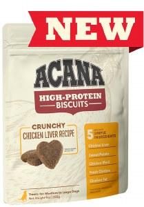 Acana Biscuit Chic Liver Sm