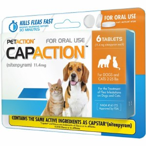CapAction Sm Dog 6 Tab