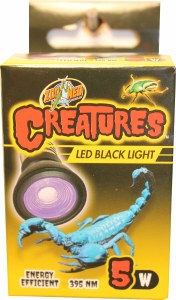 Creatures LED Lamp 5w Black