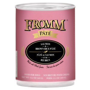 Fromm Salmon & Rice Pate'