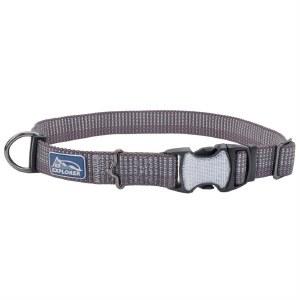 K9 Reflect Collar Grey 10-14