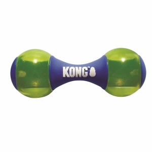 KONG Squeezz Action Dumbbell Blue Small