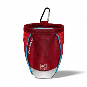 Kurgo Stuff It Treat Bag Red