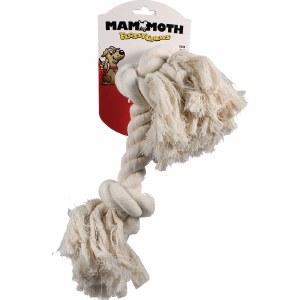 "Mammoth Rope Bone Wht XL 16"""