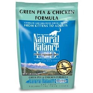 Natural balance LID CAT CHIC GR PEA 5#