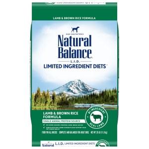 Nat Bal LID Lamb Rice 26#
