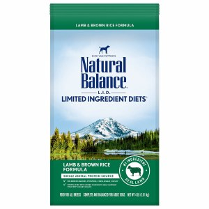 Nat Bal LID Lamb Rice 4#