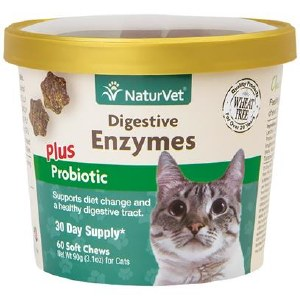NatVet Cat Digest Enzymes 60