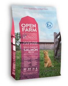 OPEN FARM CAT DRY GF WILD SALM