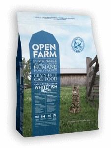 OPEN FARM CAT DRY WHITEFISH 4#