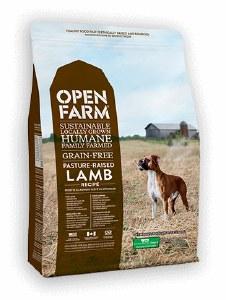 OPEN FARM DOG DRY LAMB 4.5#