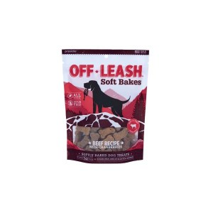 Off Leash Soft Bakes Beef 5oz