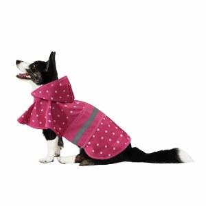 Polka Dot Raincoat Pink XS