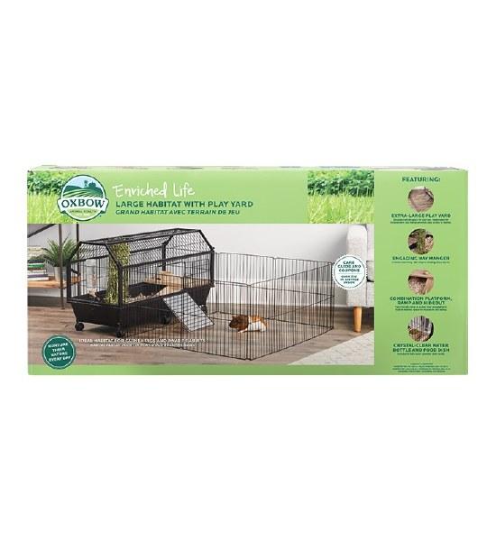 Oxbow Habitat Guinea Rabbit Lg Pet Nation