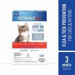 Adams Plus Spot On Cat Und 5#