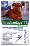 Advantage II XLarge Dog 4 Pack