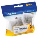 Aqueon mini bow filter 6 pack