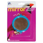 Bird 2 Sided Mirror with Bell