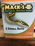 Boxed Small Rats 2pk