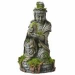 Buddha Statue with Moss