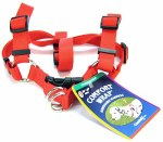 "Comfort STEP IN Harness 1"" RED"