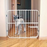 Carlson Gate with Dog Door 24""