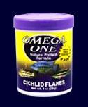 OMEGA CICHLID FLAKES 1 OZ